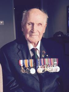 Capt Bede Tongs OAM MM (Rtd) taken on 24 October 2014
